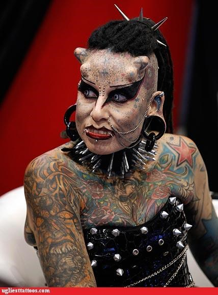 face tats,full-body fail,Hall of Fame,other bod mods,piercings