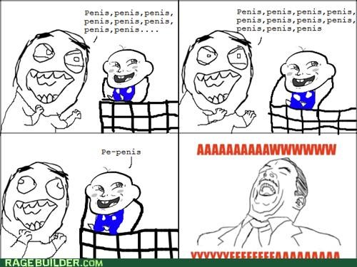 Babies naught words Rage Comics supermarkets weens
