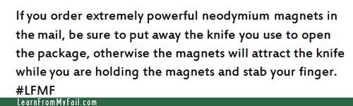 knives magnets stabbing - 4778589440