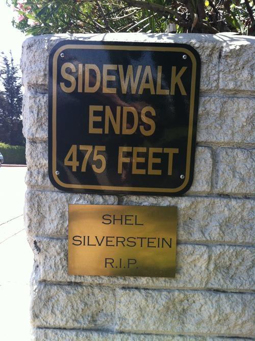 rip,shel silverstein,Street Art