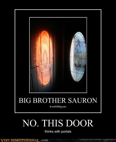 door hilarious Portal video games - 4779470592