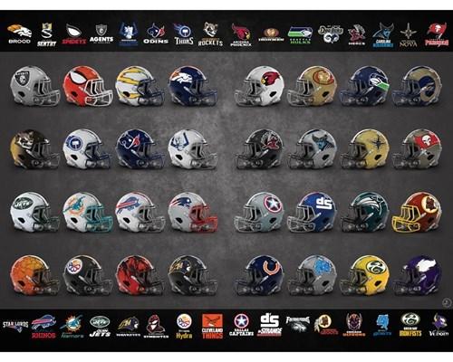 marvel helmets nfl - 477957