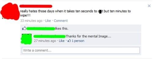mental image TMI crap