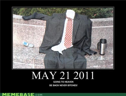 empty suit,hilarious,RAPTURE,silly