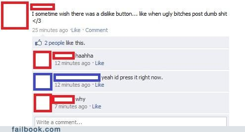 dislike button facepalm - 4780584960