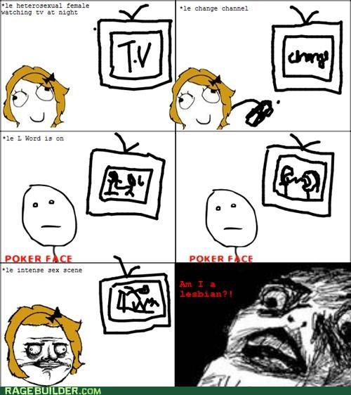 lesbian Rage Comics television the l word - 4780721920