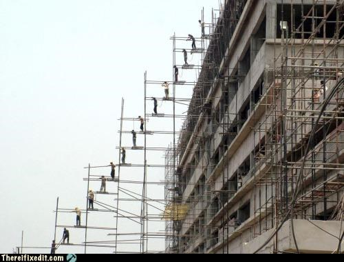3rd world,ingenuity,Professional At Work,safety first