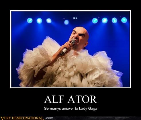 alf ator,hilarious,lady gaga