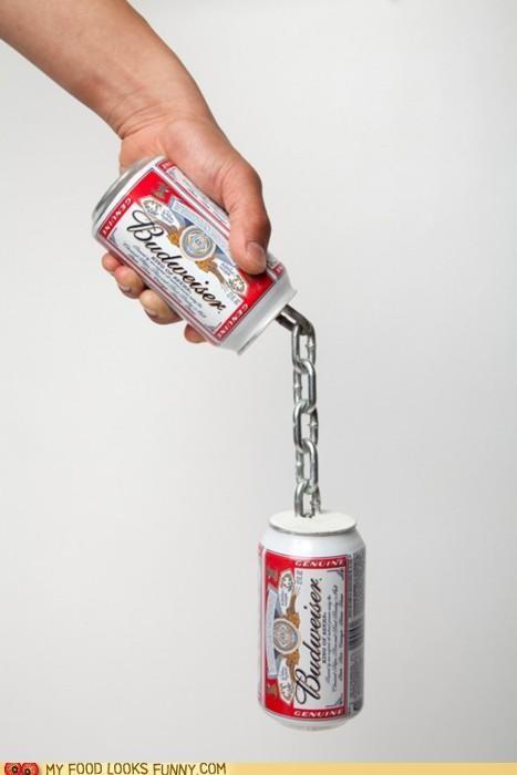beer,beer cans,budweiser,nunchucks