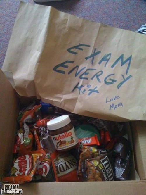 energy exams food nutella packages parents school - 4781196288