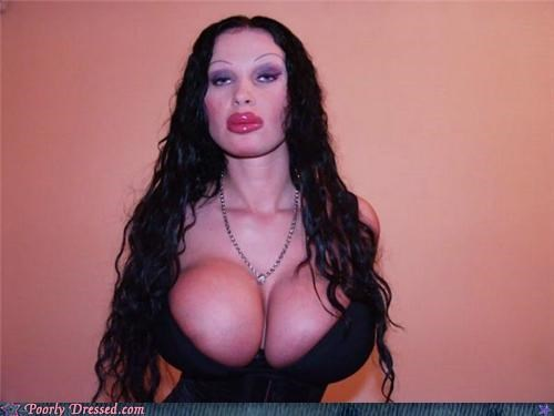 boob job,cleavage,hair,plastic surgery
