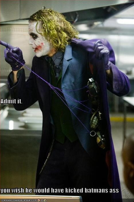 actor celeb funny heath ledger the joker - 4781882368