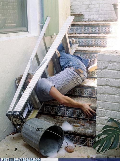 ladder stairs trip - 4782063360