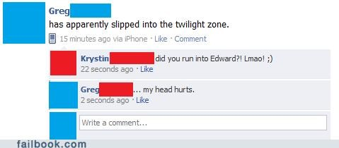 edward cullen twilight zone twilight