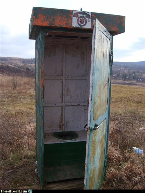 bathroom eastern europe phone booth port a potty toilet - 4784208640