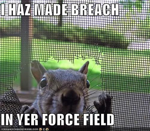 Image result for force field breach