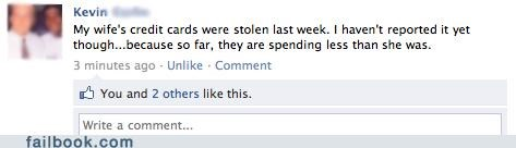 credit cards,identity theft,failbook,g rated