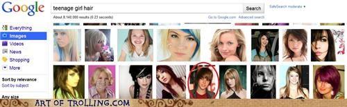 girl google hair justin bieber - 4785524224