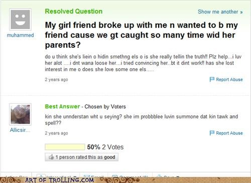 engrish,FAIL,grammar,spelling,Yahoo Answer Fails