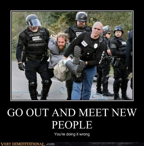 bad idea hilarious making friends police wrong - 4786127872