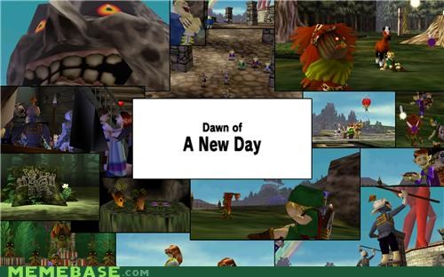 majoras mask,Memes,RAPTURE,song of time,video games,we did it,zelda