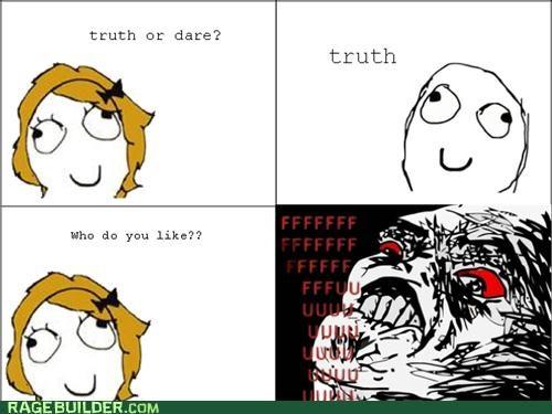 dare girls Rage Comics truth ugh - 4786281216