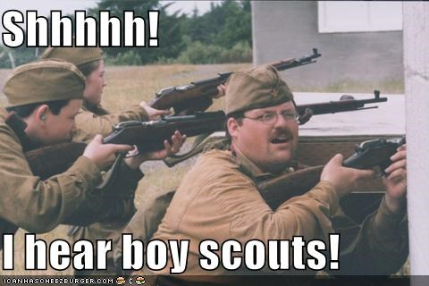 boy scouts political pictures soldiers - 4786287360