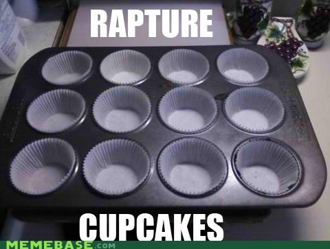 cupcakes,food,heaven,Memes,RAPTURE