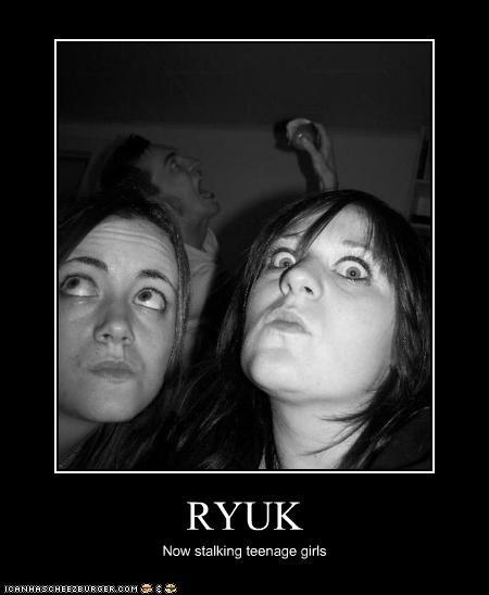 RYUK Now stalking teenage girls
