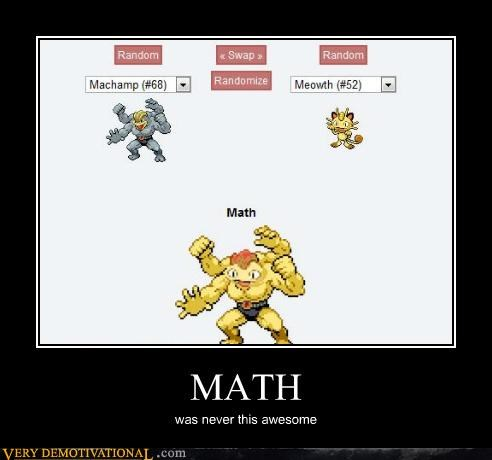 fusion,math,Pokémon,Pure Awesome