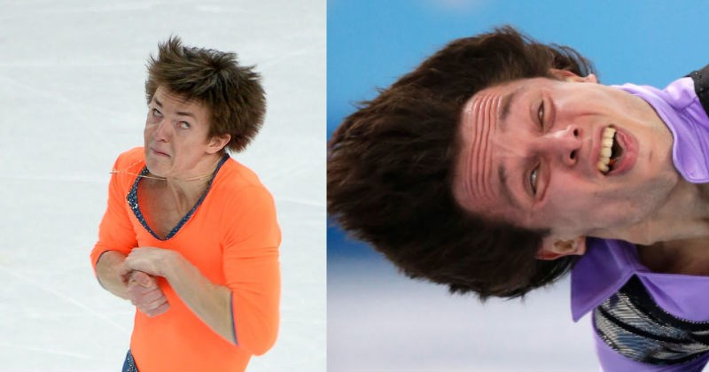 funny pics of ice skaters mid skating