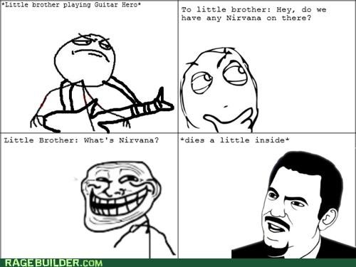 Music nirvana Rage Comics rockband seattle teen spirit - 4787123456