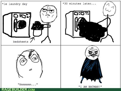 batman,dryer,hmm,minutes,Rage Comics,sheets,towel