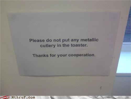 break room,fire hazard,toaster