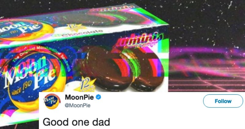 MoonPie company reminds us why dad jokes are the best with one funny tweet.