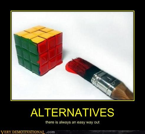 alternative,easy,hilarious,rubix cube