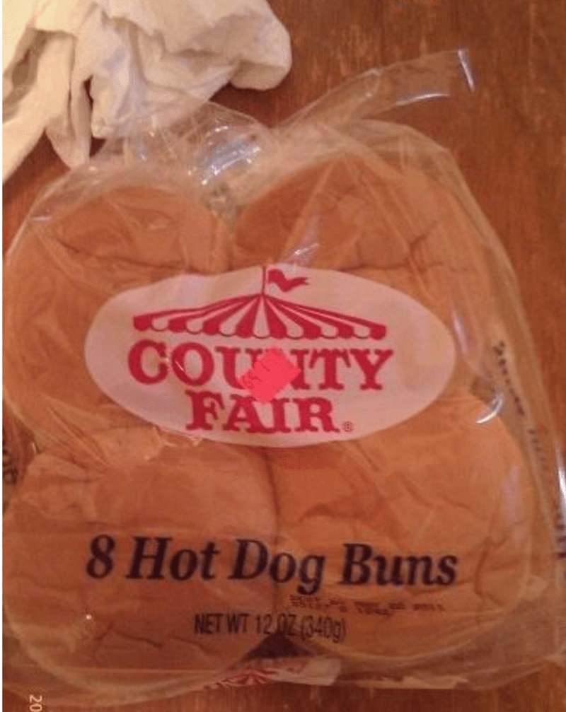 Hamburger Bun Fail