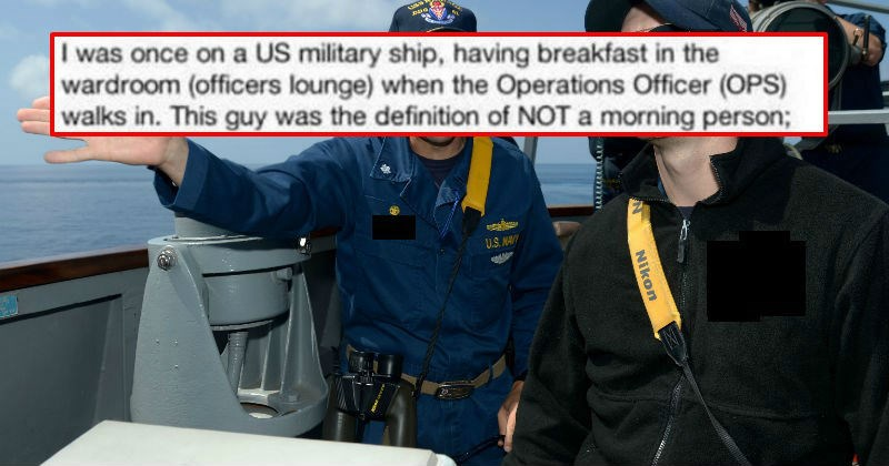 Guy shares ridiculous story of his operations manager pulling off a ridiculously lazy command.