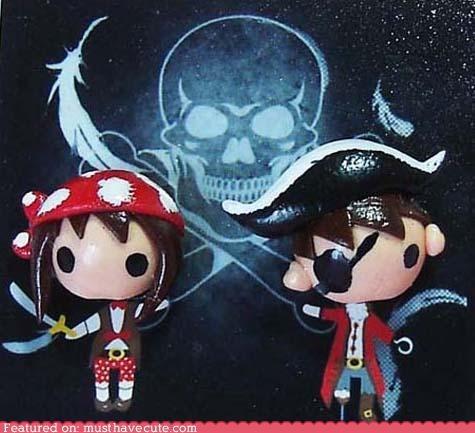 accessories boy earrings girl heads Jewelry kids pirates - 4790112512