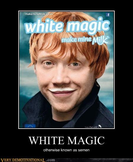 Harry Potter,hilarious,Ron Weasley,semen,wtf