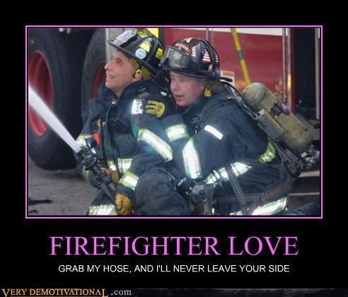 firefighter hilarious hose love wtf - 4790249984