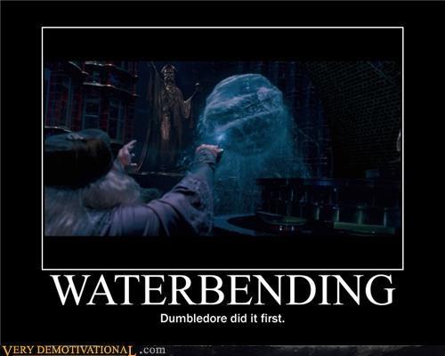dumbledore Harry Potter hilarious waterbending - 4790504448