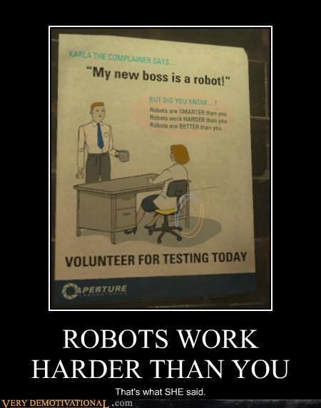 aperture science hilarious Portal robot - 4791329280