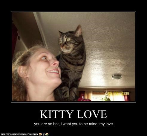 KITTY LOVE you are so hot, i want you to be mine, my love