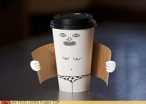 coffe collar creepy cup flasher hot pasty speedo - 4791869184