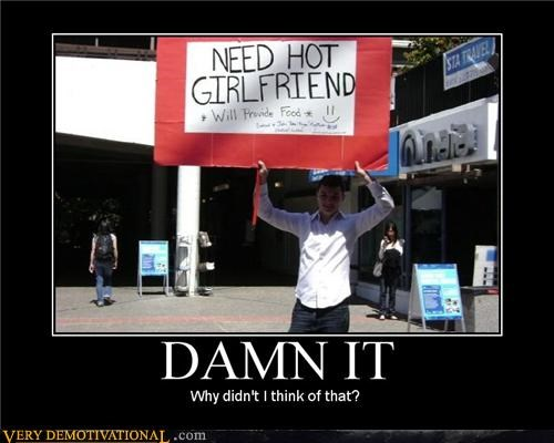 advertising girlfriend good idea Pure Awesome sign - 4791908096