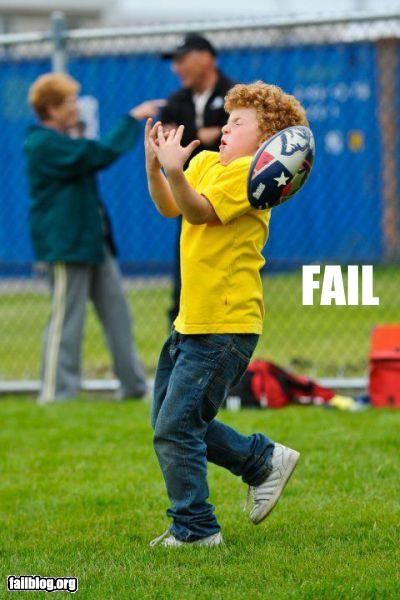 ball catching failboat football g rated kids ouch sports - 4791958272