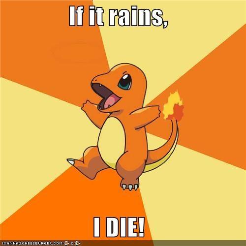 charmanda,charmander,die,olympics,Pokémemes,rain,torch