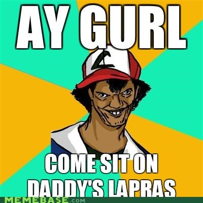 daddy,Dat Ash,lap,lapras,Pokémemes,surf