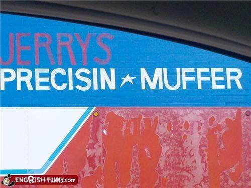 muffler,sign,store